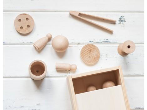 Caja de madera de los tesoros Ref.MO2020