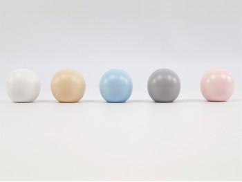 Tiradores infantiles Bola Color Liso 4 cm.
