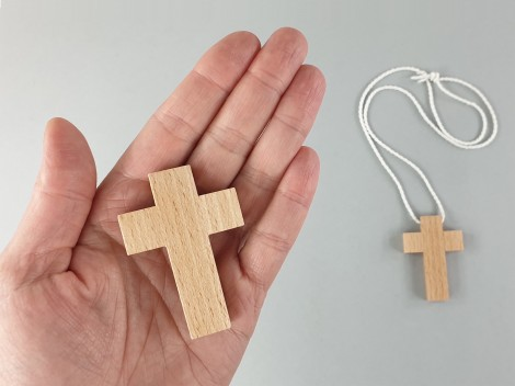 Cruz de madera para comunión Ref.HCruz2