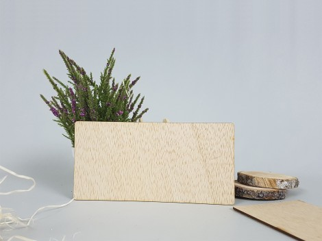 Invitaciones de madera A Medida MOD.4