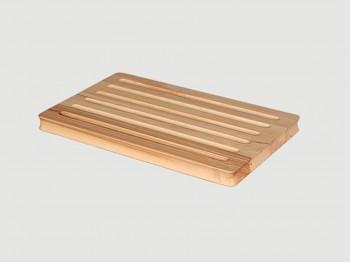 Tabla de madera para cortar pan Ref.4534