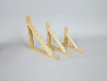 Escuadra de madera para baldas varias medidas Ref.T1051