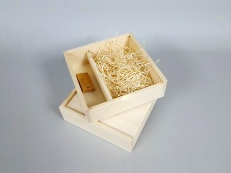 Caja fotos 10x15 c/Tapa Madera Ref.P00CF13