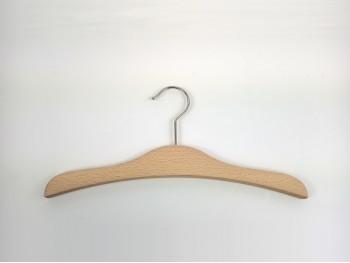 Natural wood clothes hanger children's clothing Ref.VG2800