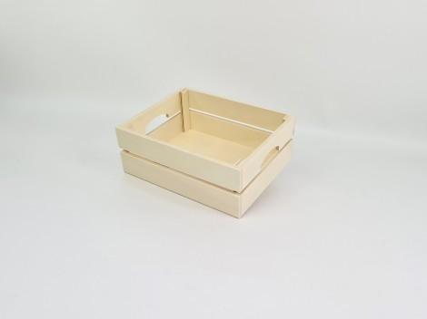 Caja cesta con asas 2 medidas Ref.AR1653