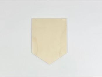 Banderín Pequeña de madera para pintar Ref.PP3