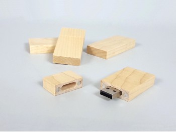 PenDrive madera con imán Ref.CH2