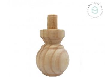 Pata de pino bola L7 cm. Ref.131