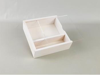 Caja blanca fotos 10x15 c/tapa Metacrilato Ref.P00CF13B1M