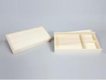 Caja fotos 13x18 con división y marco Ref.P1454MS1