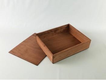 Caja envejecida para fotos 20x25 cm. Ref.PF2025F