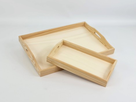 Bandeja rectangular 2 medidas Ref.P1092AZ