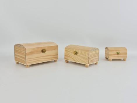 Baúles pequeños con patas diferentes medidas Ref. P1012