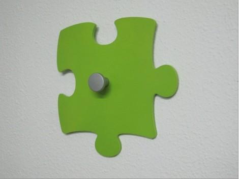 Perchero pared forma Puzzle REF.CP11