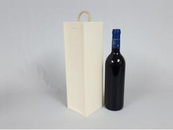 Cajas de madera para vino de 1 botella