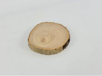 Rodaja de madera c/corteza Ø14-16 cm. Ref.11407