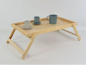 Bandeja de madera para cama con patas Ref. AR06692