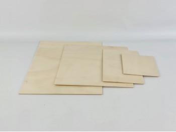 Tapas de madera Natural para Cajas Ref. TapaN
