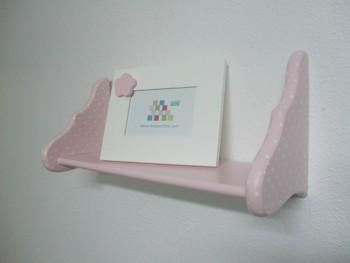 Pink shelf w/polka dots REF.3015