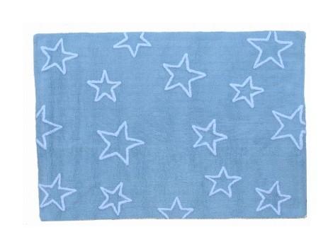 Alfombra Estrellas Azul REF. LC44402
