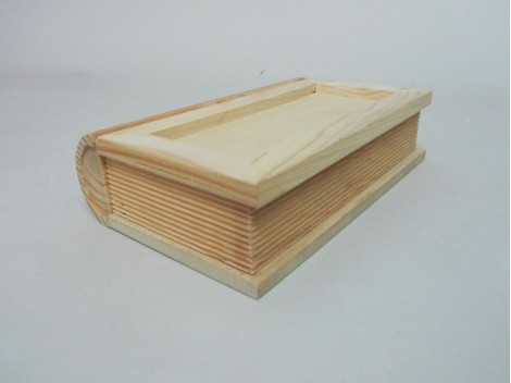 Caja forma libro c/lomo REF.1925