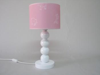 Lámpara sobremesa bolas pantalla dibujos Ref.3000A