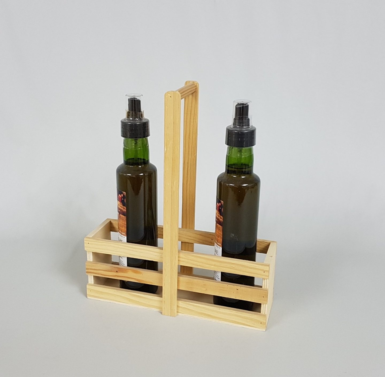 Vinagreras de madera