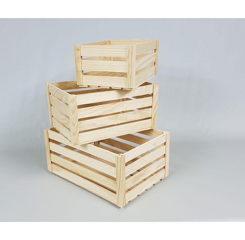 Ideas creativas con cajas de madera