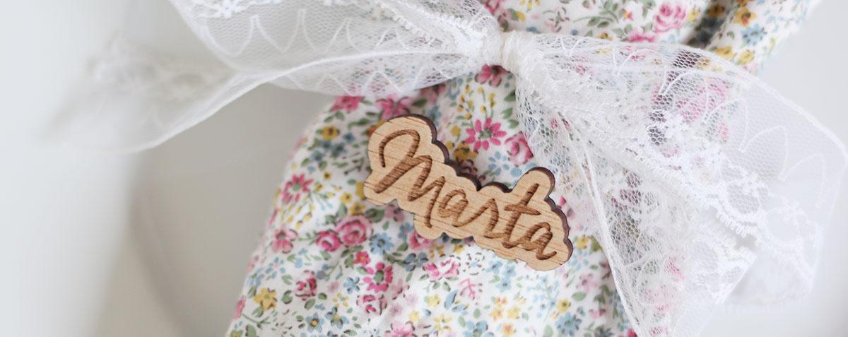 Decorando una boda con madera