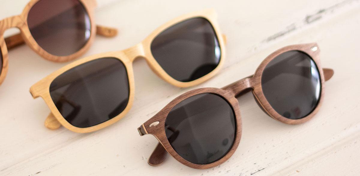 Estrena gafas de sol de madera