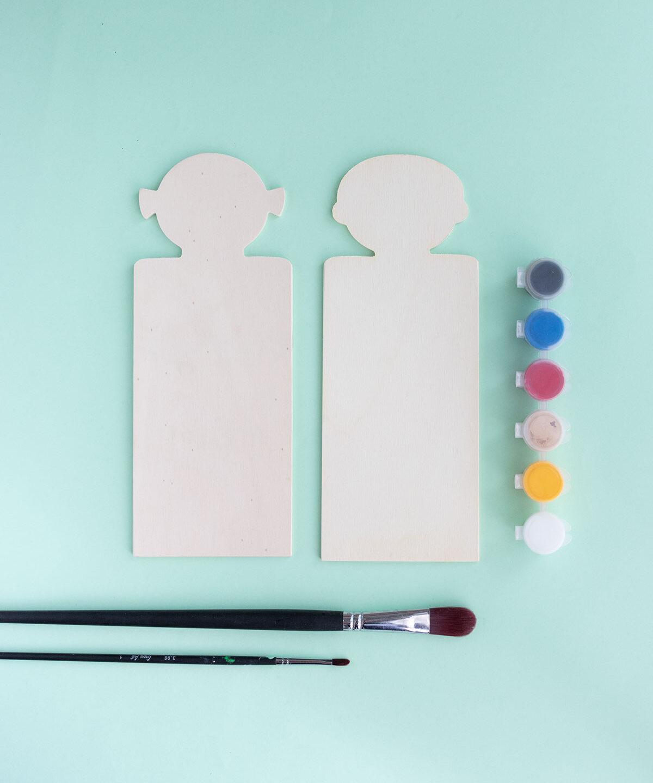 DIY decora la puerta del dormitorio infantil