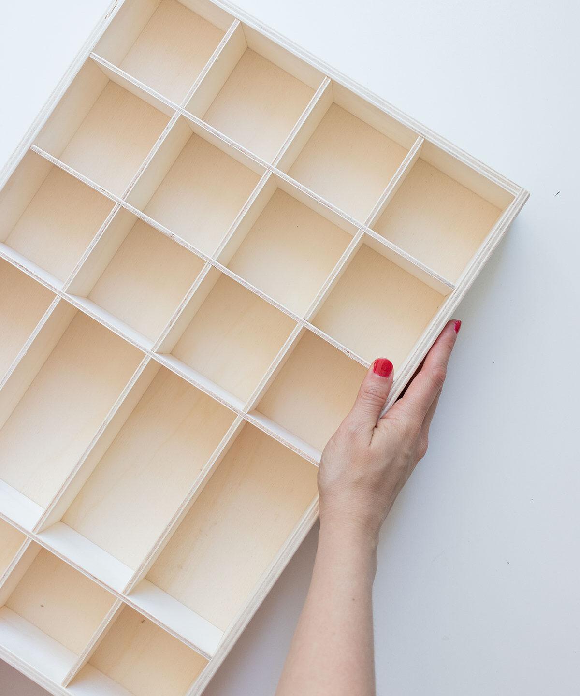 Nuevo: Bandeja de clasificación de madera