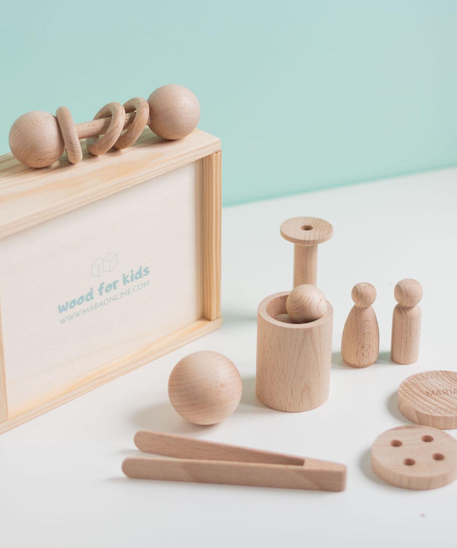 Wood for kids, jugando con madera