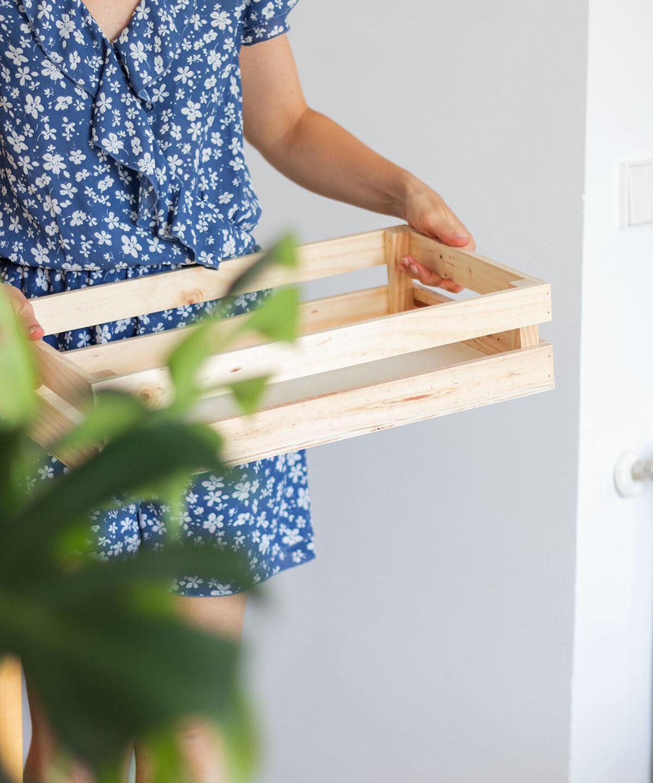 Nueva bandeja de madera especial eventos