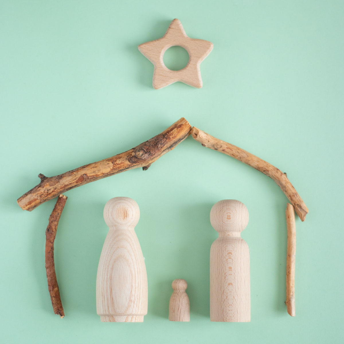 Decora tu Navidad con madera