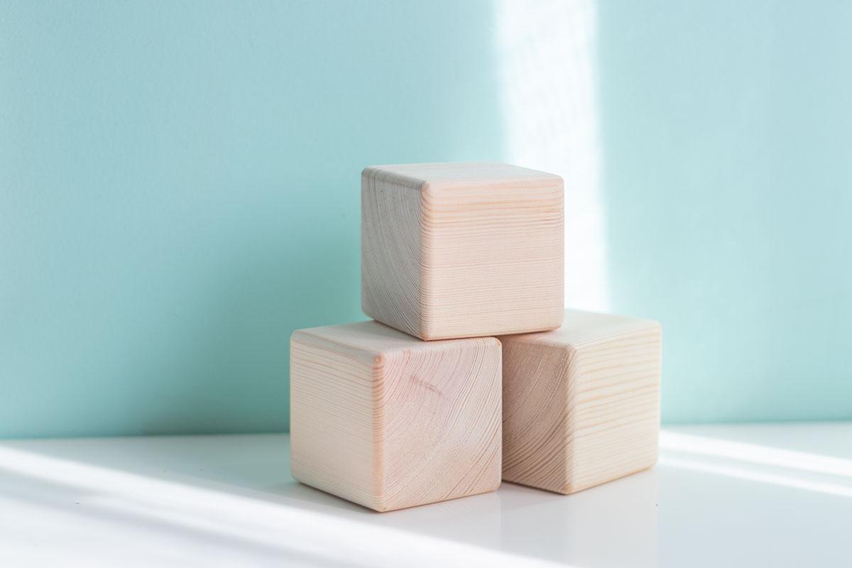 Nuevo: Cubos de madera para personalizar