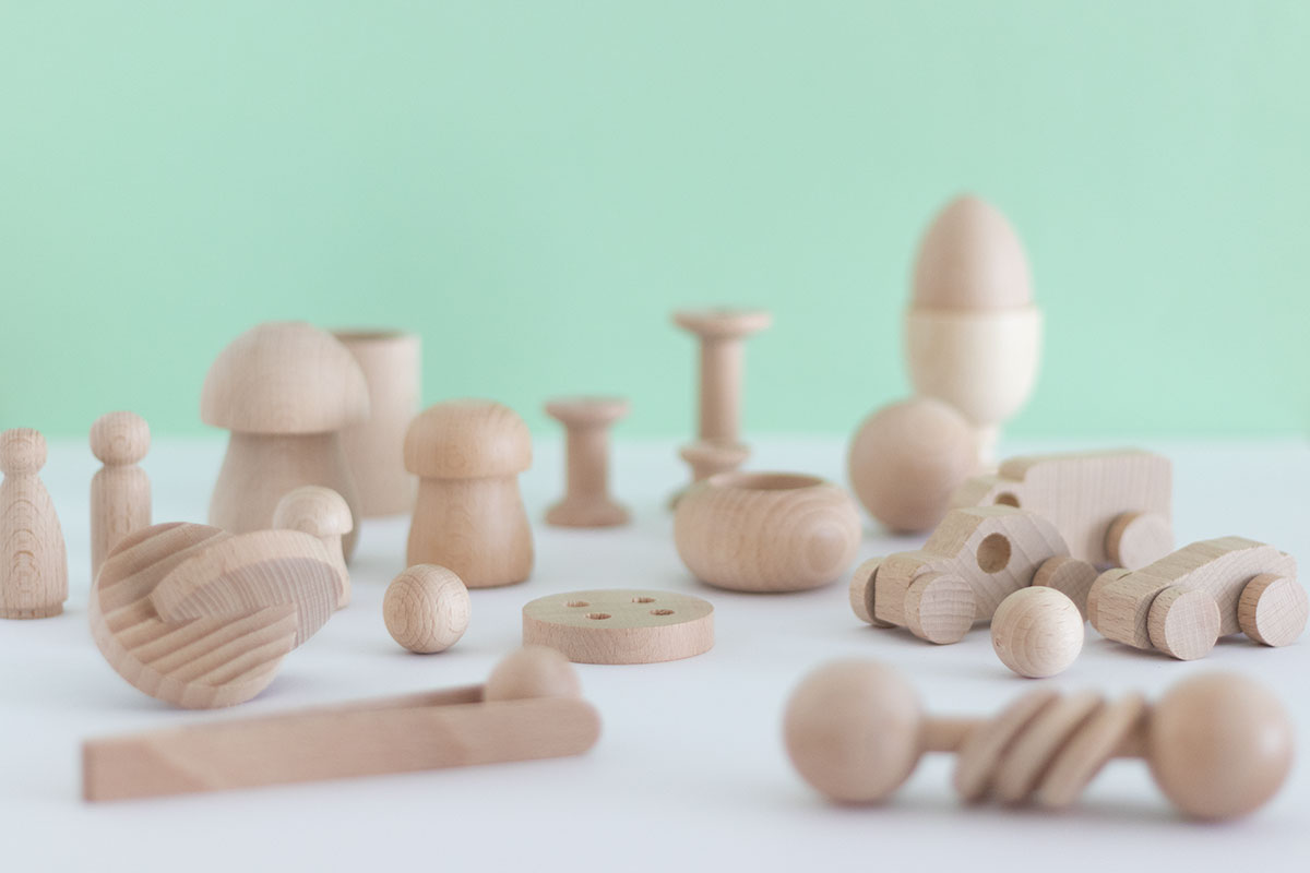 Wood for kids: La caja de los tesoros al completo