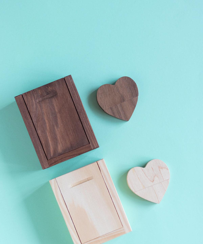 NOVEDAD: Pen drive corazón con cajita