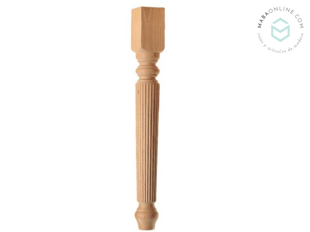 Striped leg L75 cm. Ref.ST145R