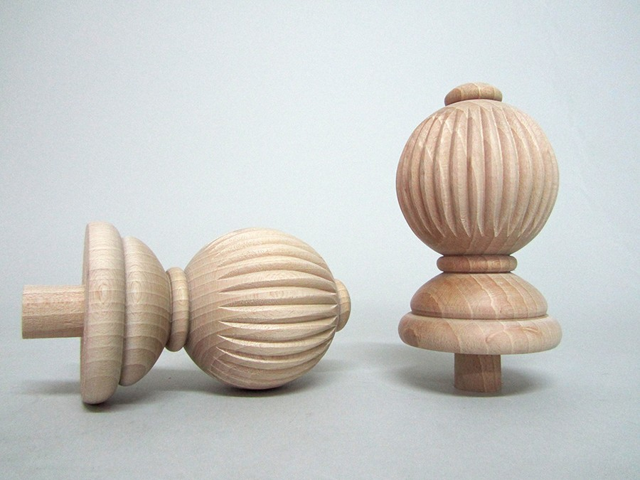 Top Ball carved Ref.355B