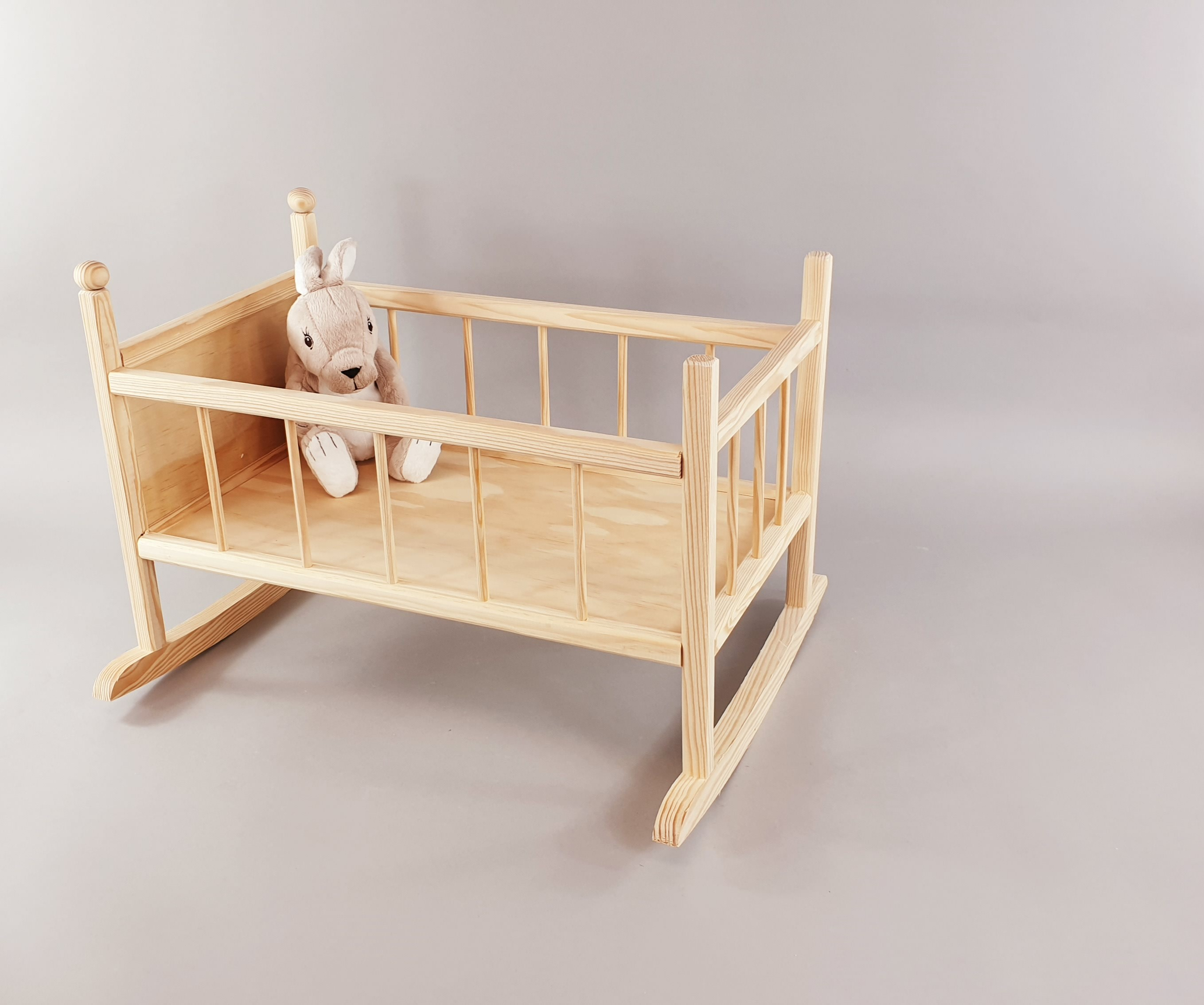 Wooden cradle for doll Ref.AR10691