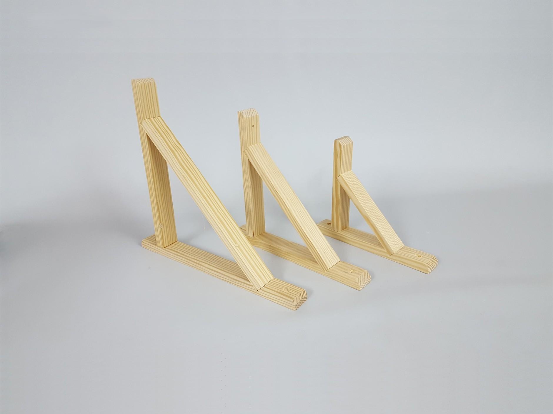Wooden square for shelves several sizes Ref.T1051